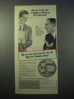 1952 Hammermill Bond Paper Ad - Save Money and Time