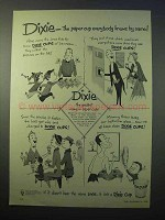 1952 Dixie Cup Ad - Paper Cup Everybody Knows by Name