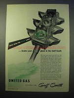 1952 United Gas Ad - Locate Your Plant in Gulf South