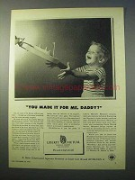 1952 Liberty Mutual Insurance Ad - You Made it For Me?