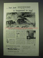 1952 Mosler Safe Ad - Suppose it Happened To You