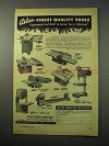 1952 Atlas Power Tool Ad - Lathe, Drill Press, Band Saw