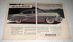 1952 Buick Roadmaster Car Ad - Make Way for Adventure