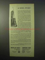 1951 Ocean City Reels, Montague Rods Ad - Fishing