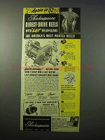 1951 Shakespeare No. 1990 Ideal Fishing Reel Ad