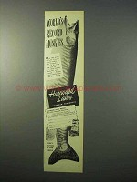 1951 Hayward Lakes Wisconsin Tourism Ad - Muskies