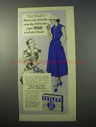 1951 Tetley Tea Ad - Women Who Drink Every Day
