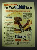 1951 Pillsbury's Best Flour Ad - Peanut Crust Pie