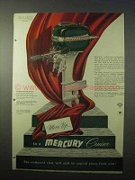 1951 Mercury Cruiser Outboard Motor Ad - Move Up To