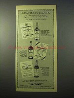 1951 Bellows Scotch Ad - Integrity and Fine Quality