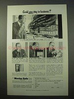1951 Mosler Safe Ad - Could You Stay in Business?