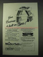 1951 Mosler Safe Ad - Your Business is Built on Paper