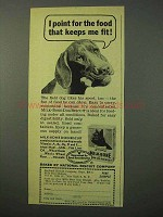 1951 Milk-Bone Dog Biscuit Ad - I Point for the Food