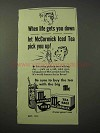 1951 McCormick Tea Ad - When Life Gets You Down