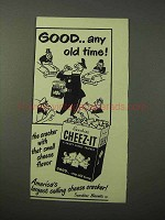 1951 Sunshine Cheez-It Crackers Ad - Any Old Time