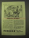 1951 Ferodo Brake and Clutch Linings Ad - Forgotten?