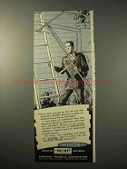 1950 Amphenol Inline Antenna Ad - Only Three Minutes
