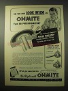 1950 Ohmite Type AB Potentiometer Ad - Look Inside