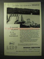 1950 EBASCO Pacific Power & Light Company Arch Dam Ad
