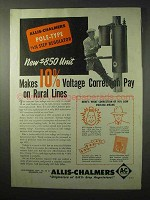 1950 Allis-Chalmers Pole-Type Step Regulator Ad