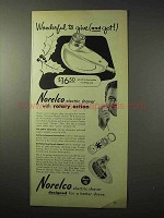 1950 Norelco Electric Shaver Ad - Wonderful To Give
