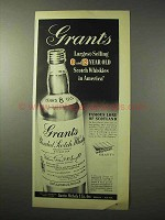 1950 Grant's Scotch Ad - Largest-Selling in America
