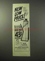1950 Mennen Brushless Shave Cream Ad!