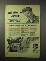 1950 U.S. Army Ad - Look What I'm Learning