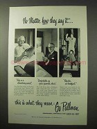 1950 Pullman Car Ad - No Matter How They Say It