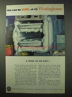 1950 Westinghouse Frost-Free Refrigerator Ad - Be Sure