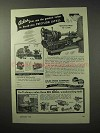 1950 Atlas Quick-Change 10 inch Lathe Ad - Values
