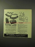 1950 Meissner 9-1093 AM-FM Tuner and Amplifier Ad
