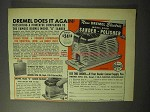 1950 Dremel Model 2000 Sander and Polisher Tool Ad