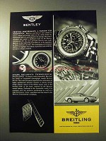 2003 Breitling Bentley Motors Watch Ad