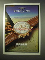 1998 Breitling Montbrillant Watch Ad