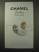 1998 Chanel Jewelry Ad - Three Symbols Ring
