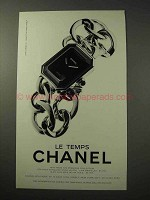 1998 Chanel Premiere Collection Watch Ad