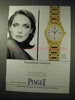 1996 Piaget Polo Mini Watch Ad - Exceptional Character