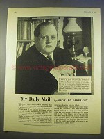 1955 Daily Mail Ad - Featuring Richard Dimbleby
