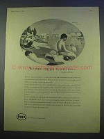 1955 Esso Oil Ad - We Want Margin to Our Lives
