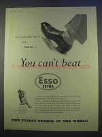 1955 Esso Extra Petrol Ad - You Can't Beat