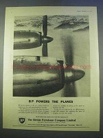 1955 BP Petroleum Ad - Powers The Planes
