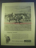 1955 Nescafe Coffee Ad - Regularly Hunted