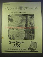 1955 State Express 555 Cigarettes Ad - Home