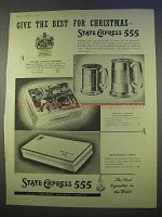 1955 State Express 555 Cigarettes Ad - Best Christmas