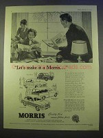 1955 Morris Minor, Cowley, Oxford Traveller Car Ad