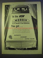 1955 Morris 2/3 Ton, 5 Ton Vehicles Truck Ad