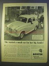 1955 Austin A30 Seven Car Ad - For Her Big Family