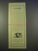 1955 Midland Bank Ad - October Don't Look Now