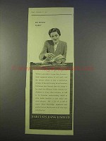 1955 Barclays Bank Ad - The Woman Cashier